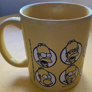 The simpsons homer mug